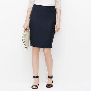NWT Ann Taylor Navy Pencil Skirt 8